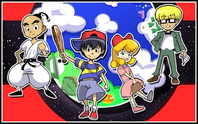 Darrows The Chosen Four So Far Most Successful Fan Comic Attempt At Retelling Entire Mother 2 Earthbound Story